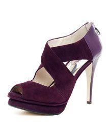 X1C44 MICHAEL Michael Kors  Elena Cross-Strap Sandal
