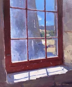 Colley Whisson, Looking Out a Dirty Old Window Version 2, 2018