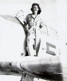 03 Jul 43: Ann Baumgartner Carl graduates from the Women Airforce Service Pilots (WASP) training program and will become the only WASP to serve as a military test pilot. She will also go on to become the first American woman to fly a United States Army Air Force turbo jet, the Bell YP-59A, in Oct 1944.