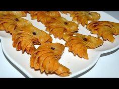 حلوة الفراشة المعسلة هشة وتذوووووب بالفم/حلويات معسلة لرمضان - YouTube