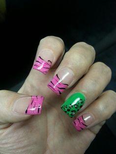 Vacation nails
