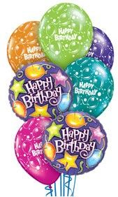 Happy Birthday Balloon Bouquet Sayings Quotes For Friends Messages