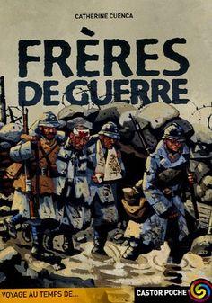 """""""Août 1914. L'Allemagne déclare la guerre à la France.  La mobilisation générale est décrétée. Eugène rêve  de faire partie de l'aventure, mais il n'a que seize ans.  Avec Matthias, son meilleur ami, ils fabriquent  de faux papiers et réussissent à se faire engager.  Ils partent ensemble pour le front, mais, très vite,  sont séparés. Chacun de leur côté, ils découvrent  l'horreur de la guerre,  Dès 12 ans"""