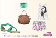 Sandália Dakota #verão .http://upcalcados.com.br/eshop/sandalia-dakota-s7354-verde-esmeralda?filter_category_id=63_manufacturer_id=45