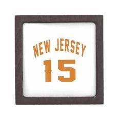 #New Jersey  15 Birthday Designs Gift Box - #birthday #gift #present #giftidea #idea #gifts