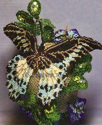 Pascua Huevo de la mariposa