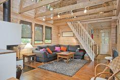 Kuvagalleria - Kontio Hirsitalot ja Hirsihuvilat Patio, Interior Design, Outdoor Decor, Room, House, Furniture, Home Decor, Nest Design, Bedroom