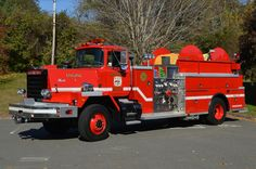 Mack RM 4×4 Fire Truck |