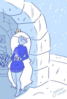 ice queen in a sweater - adventure-time-with-finn-and-jake Photo