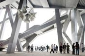 Herzog & de Meuron and Ai Weiwei pavilion at The Serpentine Gallery 1st June to 14 October