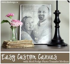 easy custom canvas with graphic