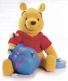 Winnie the Pooh Amigurumi Pattern in English