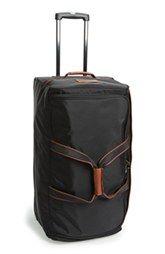 Gypsy Travel Luggage  Serafini Amelia  Longchamp 'Large Le Pliage' Wheeled Travel Bag