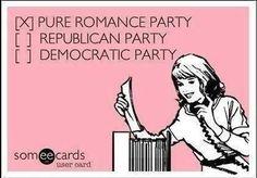 Vote for Pure Romance! Who needs politics?  www.jackiegoodfriend.pureromance.com