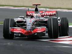 Fernando Alonso mercedes F1 | Fernando Alonso, McLaren-Mercedes, Magny-Cours, 2007, 3 ...