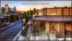 Historic Old Town Folsom California