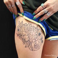 Georgina May at Primitive Tattoo Perth