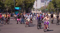 """Primer """"Muévete en Bici"""" de 2017 el próximo domingo sobre Avenida Paseo de la Reforma"""