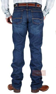 calça masculina Ariat Heritage   calça masculina, importada, marca Ariat, jeans 100% algodão, cor azul marinho, corte tradicional, cós médio. Uma calça que veste bem e irá agradar até os mais exigentes e tradicionais cowboys. Na fazenda ou na cidade, se você procura um jeans com boa durabilidade e conforto esta é uma boa opção.
