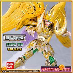 "118.72$  Buy now - ""Japan Anime """"Saint Seiya"""" Original BANDAI Tamashii Nations Saint Cloth Myth EX Soul of Gold Action Figure - Aries MU GOD CLOTH""  #shopstyle"