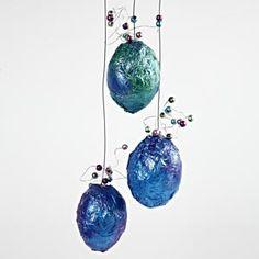 PÅSKE Egg Decorating, Wind Chimes, Glitter, Easter Eggs, Christmas Bulbs, Perler, Holiday Decor, Metal, Outdoor Decor