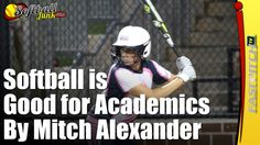 """Many of us have heard the """"common knowledge"""" claims that boys who participate in football or baseball are more successful in life. What about girls' youth softball?  Full Article: https://fastpitch.tv/softball-good-academics  Sponsored by http://SportsJunk.com/  #softball #fastpitch #fastpitchsoftball #fastpitchtv"""