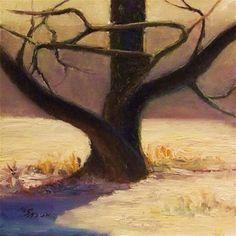 "Daily Paintworks - ""Still standing"" - Original Fine Art for Sale - © Michael Sason"