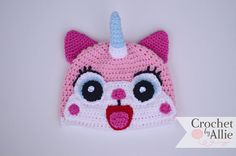 Hey, I found this really awesome Etsy listing at https://www.etsy.com/listing/181613447/unikitty-hat-2t-adult-lego-movie-uni