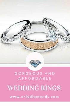 Shared prongs diamond wedding rings at Orly Diamonds Cool Wedding Rings, Diamond Wedding Rings, Diamond Bands, Wedding Bands, Diamonds, Engagement Rings, Jewelry, Enagement Rings, Wedding Rings