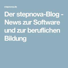 Der stepnova-Blog - News zur Software und zur beruflichen Bildung