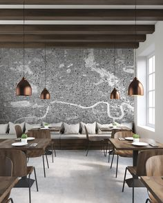 Wallpaper company Newmor has worked with designer Stephen Walter on a new collection based on his intricate map illustrations.