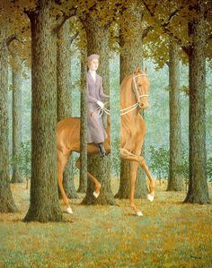 Rene Magritte, The blank signature (1965 - 81 cm. x 65 cm.), National Gallery of Art, Washingon, DC, USA