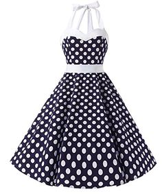 Amazon.com: Dresstells Vintage 1950s Rockabilly Polka Dots Audrey Dress Retro Cocktail Dress: Clothing  https://www.amazon.com/gp/product/B01ASPN04E/ref=as_li_qf_sp_asin_il_tl?ie=UTF8&tag=rockaclothsto-20&camp=1789&creative=9325&linkCode=as2&creativeASIN=B01HGNOAZ4&linkId=8d72cda6ef7339d285128f0da98ceefb&th=1