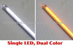 2-Color White/Amber LED Flexible Arrays