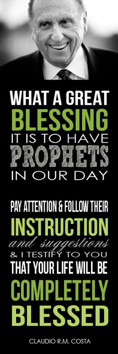 All Things Bright and Beautiful: Come Follow Me Handouts:: The Importance of Following Prophets