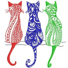 Embroidery Software, Embroidery Thread, Machine Embroidery Designs, Cat Quilt, Star Stitch, Janome, One Design, Happy Mothers Day, 4x4