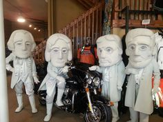 The #RushmoreMascots are excited for the 2013 #Sturgis Rally! Are you? #VisitRapidCity #SouthDakota