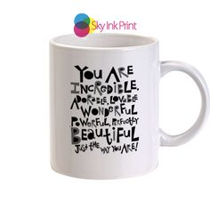 bruno mars quotes17 coffee mugs, Gift Idea, wedding gift, Coffee lover gift, Tea lover gift By SkyInkPrint