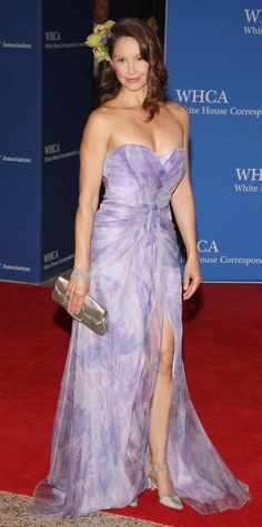 Celebrities Take Over the2015 White House Correspondents' Dinner - Ashley Judd from #InStyle