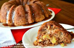 Fresh Apple Cake Recipe Adapted from The Apple Barn