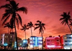 MIAMI - Technically I've already been but I'd love to go back.