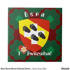 Bern Berne Berna Schweiz Suisse Fliese