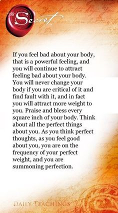 The Secret ~ Law of Attraction ❤ V