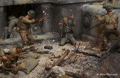 D-day diorama by Shigeyuki Mizuni http://www.geocities.jp/shige122112/pg231.html