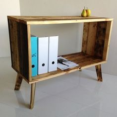 reclaimed timber wood pallet furniture contemporary design   Visit  Like our Facebook page! https://www.facebook.com/pages/Rustic-Farmhouse-Decor/636679889706127