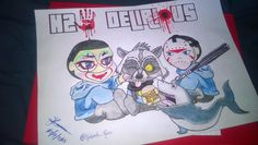 H2ODelirious - This is some cool hand drawn fan art!