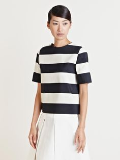 SEE DETAILS HERE: Lanvin Women's Striped Top
