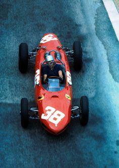 1962 Monaco Grand Prix | Ferrari 156 Sharknose | Lorenzo Bandini