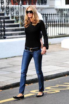 Elle McPherson in London