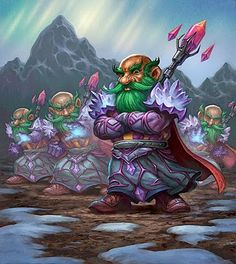 Hearthstone Card Artwork for Mirror Image - Jim Nelson